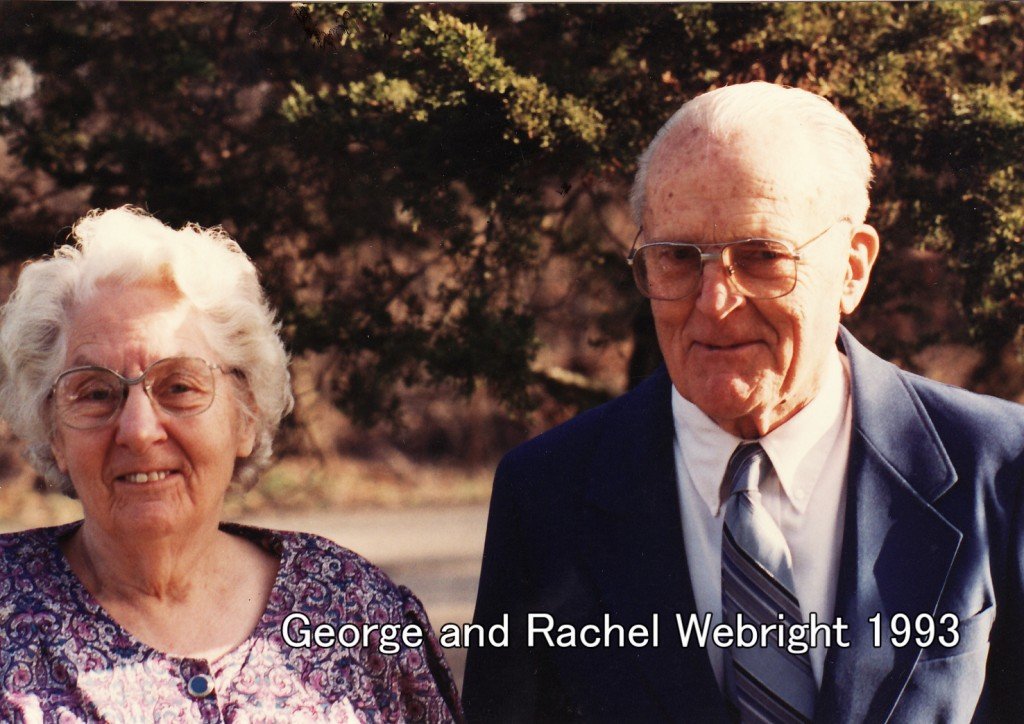 George and Rachel Weybright 1993