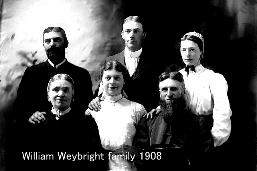William Weybright Family circa 1908