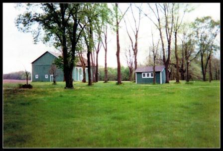 Sanders Farm in Spring